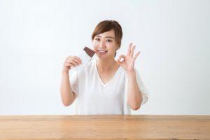 相手の好みに合わせてチョコレートを選ぶ