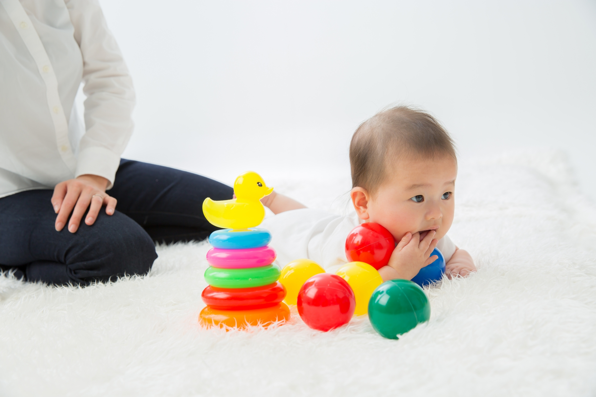 赤ちゃん用ラグマット