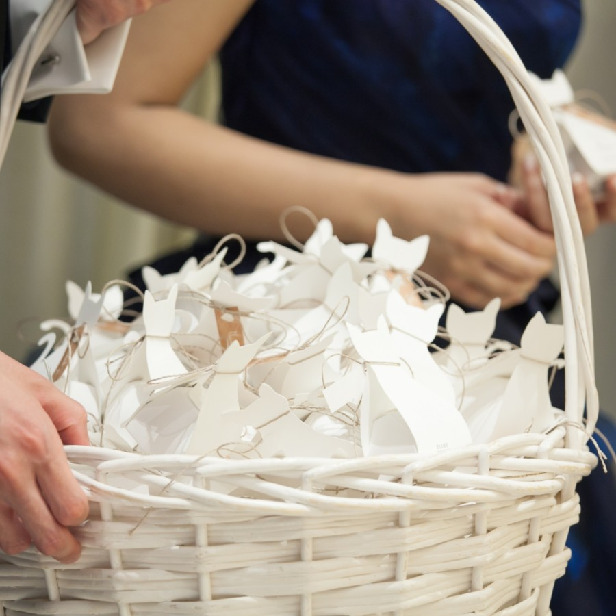 結婚式のプチギフト
